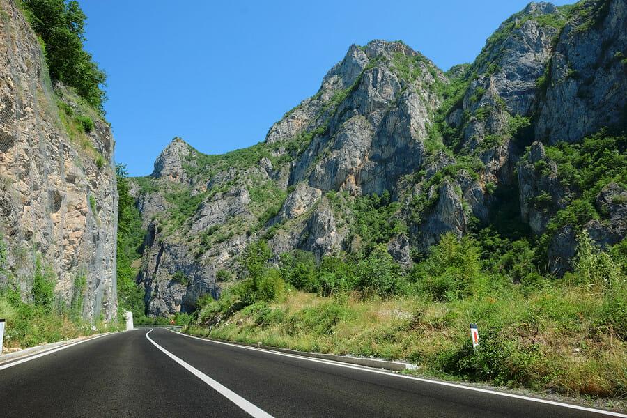 Serbien Straßen