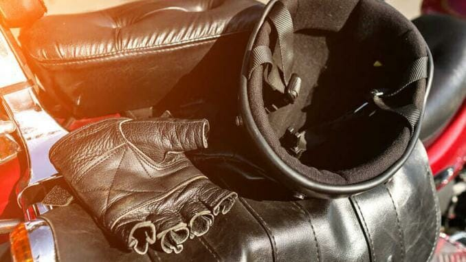 Fingerlose Motorradhandschuhe