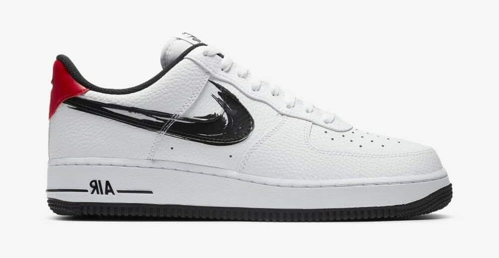 Air Force 1 Brushstroke White