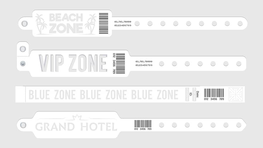 Kontrollbänder QR-Code