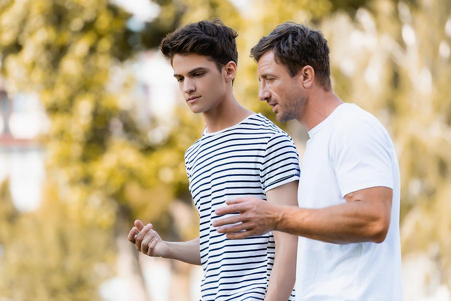 Sohn und Vater