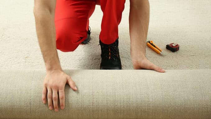 Teppich selber verlegen
