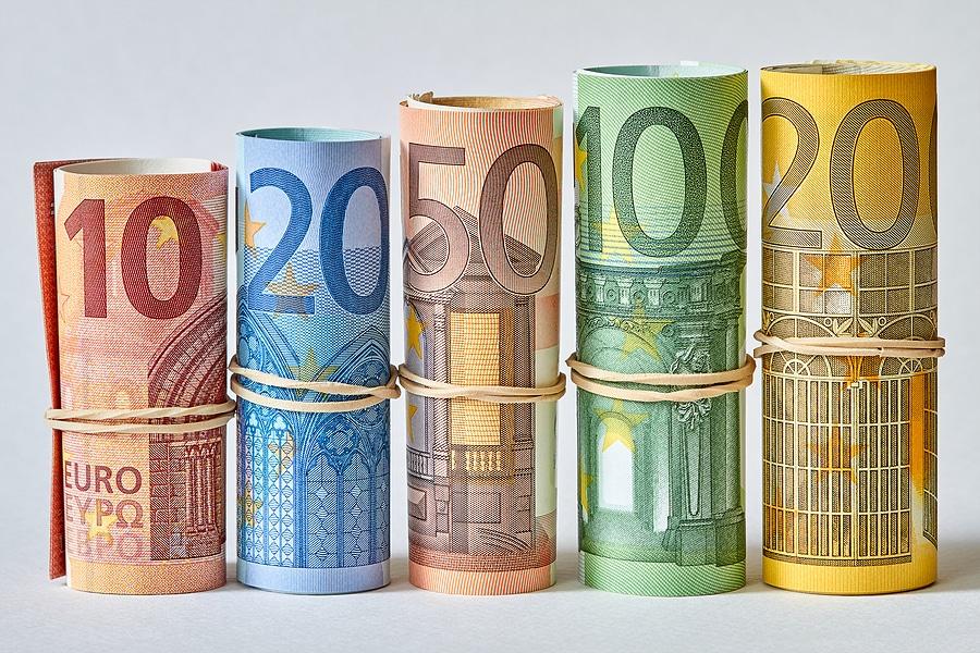 Geld-Euros