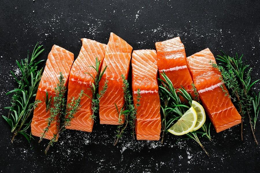 Fleisch Fisch